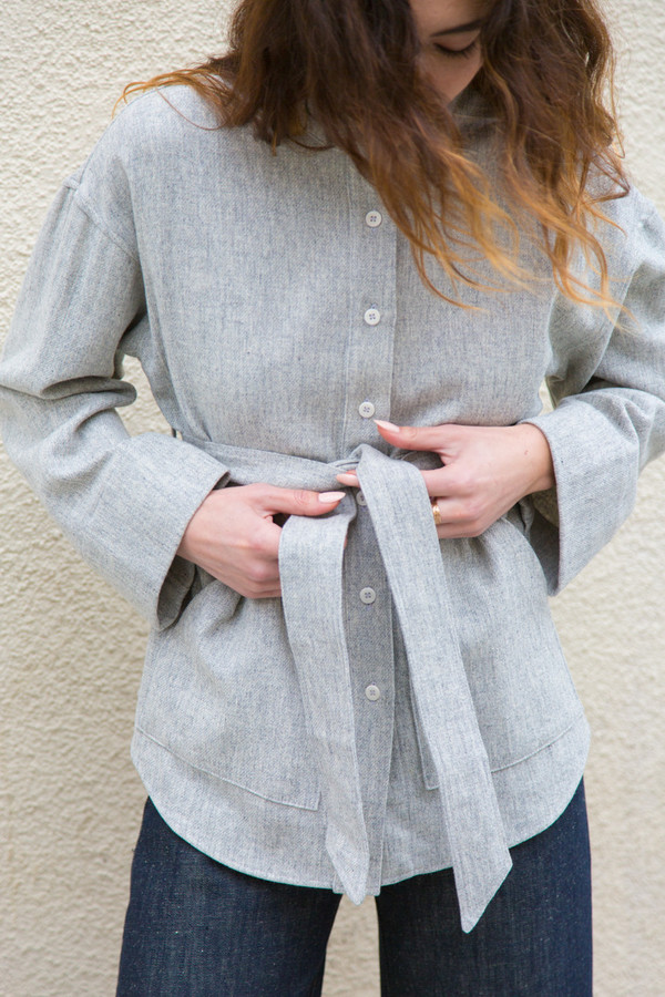 ozma kimono shirt jacket