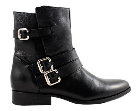 Cartel Footwear AW16 Biker Boot - Palmira Black Leather