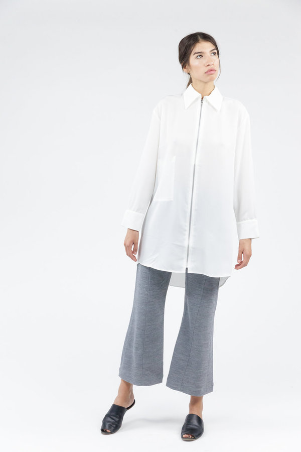 House of Sunny Essential Shirt - Clean White