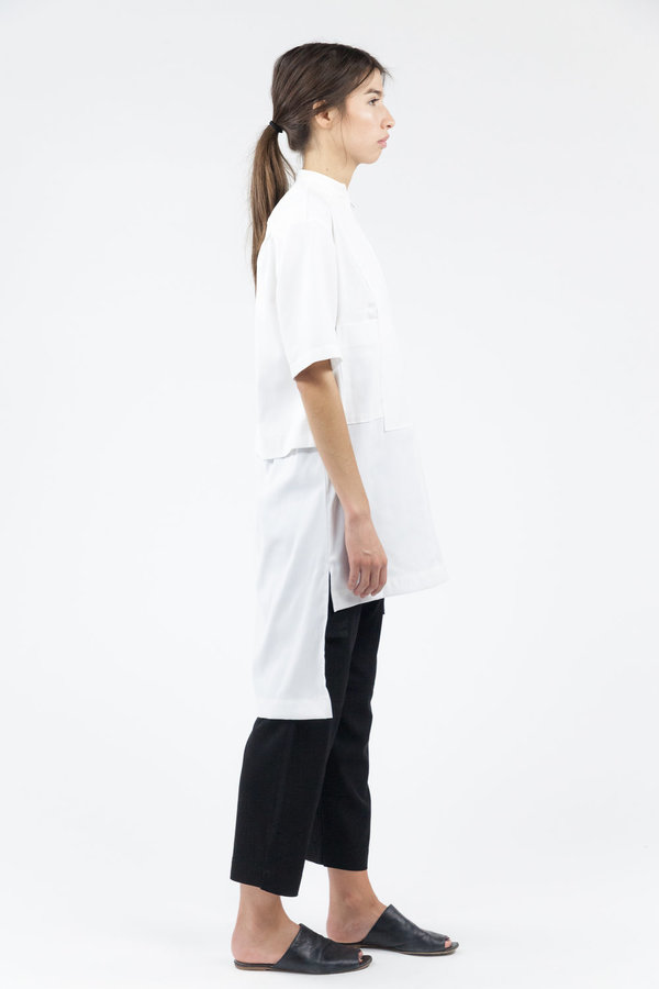 House of Sunny Purism Shirt - Clean White