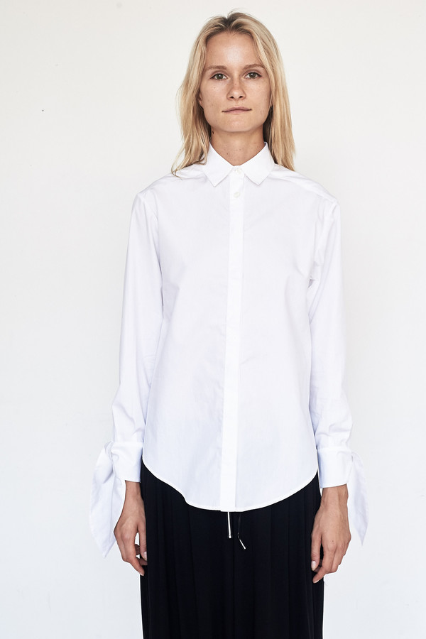 Fabiana Pigna Cotton Kasia Blouse - White