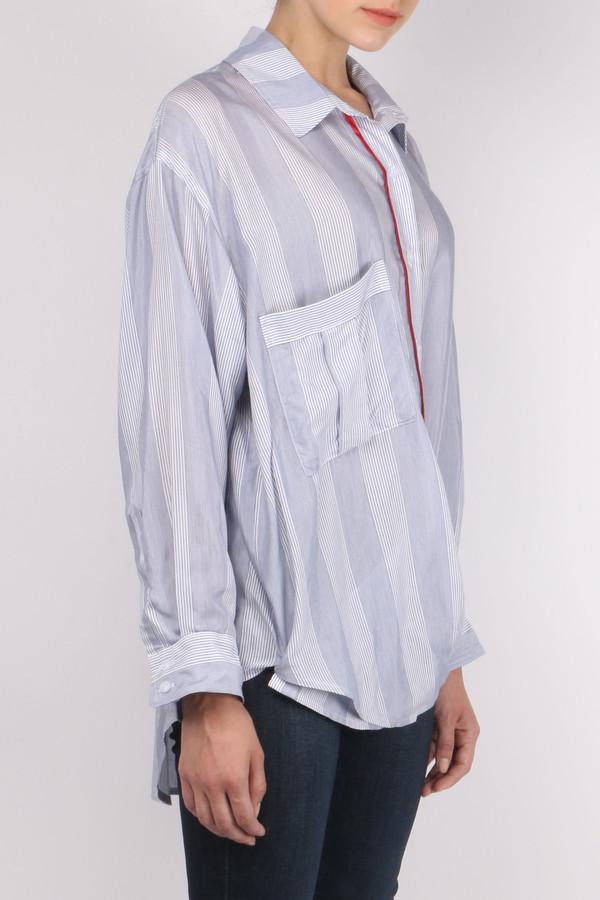 Smythe Twoforone Boyfriend Shirt