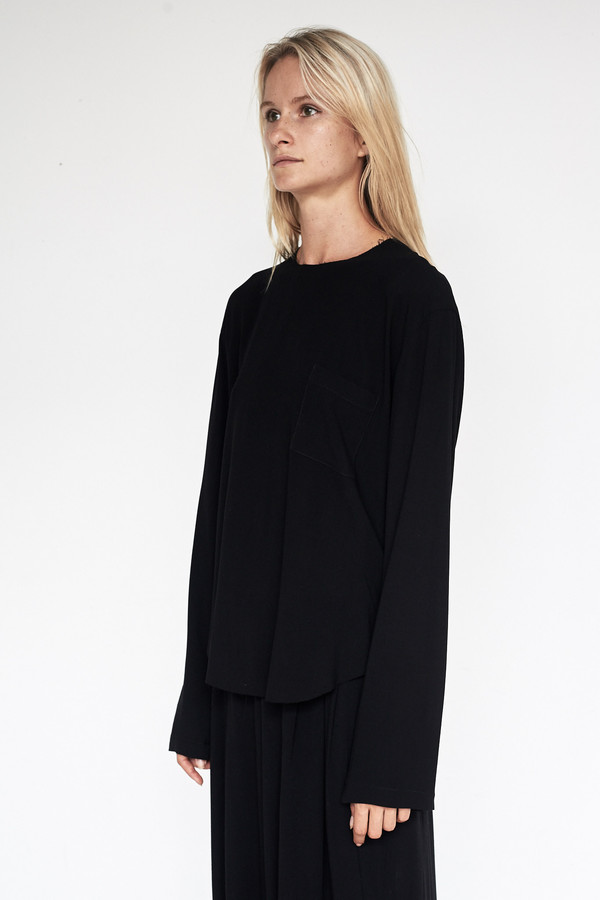 Assembly New York Crepe L/S Tee