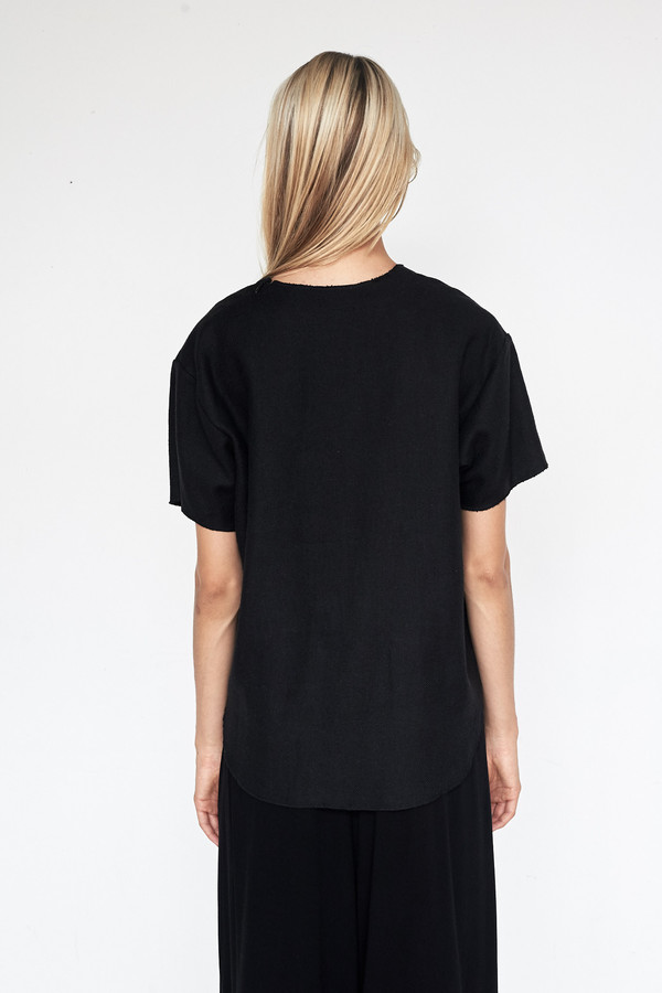 Assembly New York Hemp Woven T-Shirt