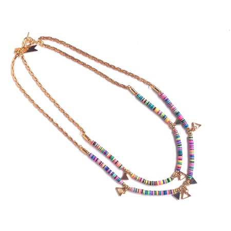 Marijke Bouchier 'Double Strand Confetti' necklace