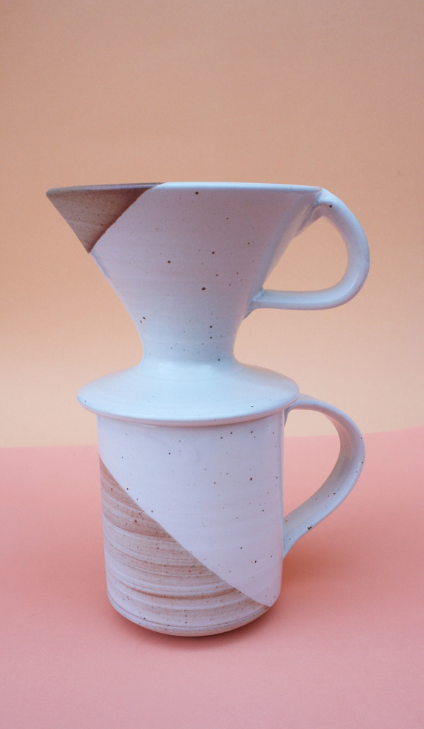 Sanny Ceramics -  Ceramic Coffee Pour Over