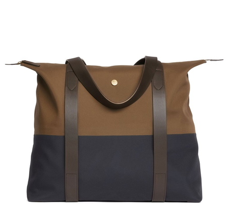 Sepia Navy and Dark Brown MS Shuttle by Mismo