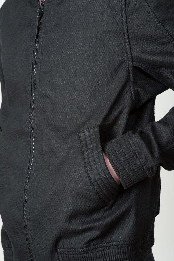 Men's Vented Linen Bomber