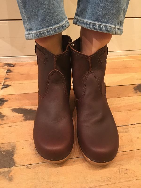 """No. 6 5"""" buckle boot - mid heel"""