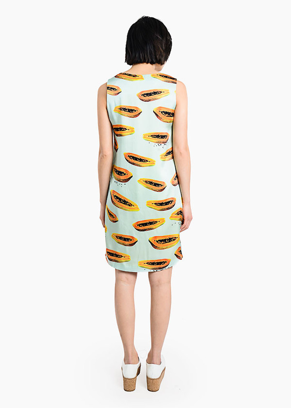 Thu Thu - Papaya Dress