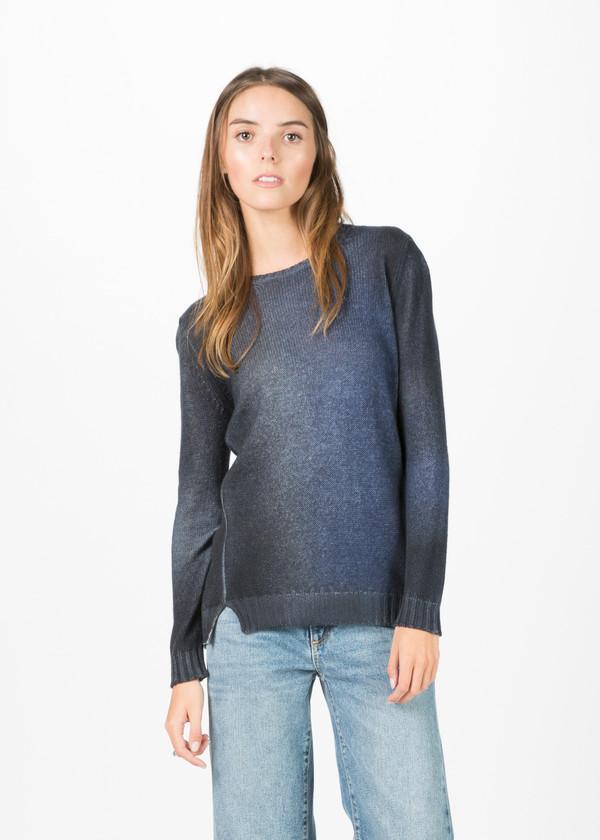 Avant Toi Two Tone Cashmere Pullover
