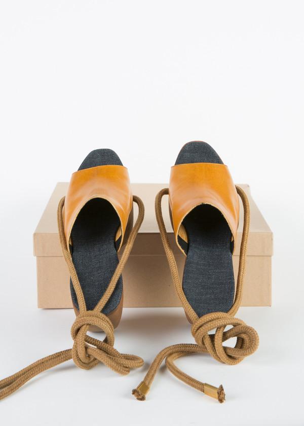 Simon Miller Wooden Platform Sandal