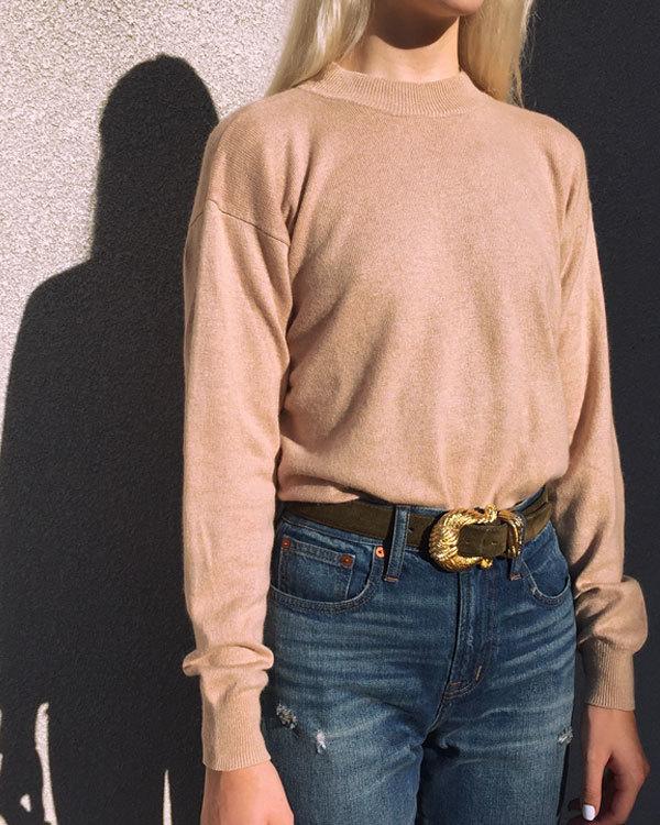 Vintage Nude Cashmere & Silk Sweater