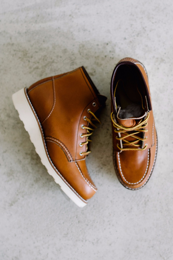 Red Wing Shoes 6-inch Moc // Oro Legacy