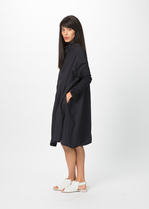Rundholz Dip Oversize Ribbed Sleeve Dress