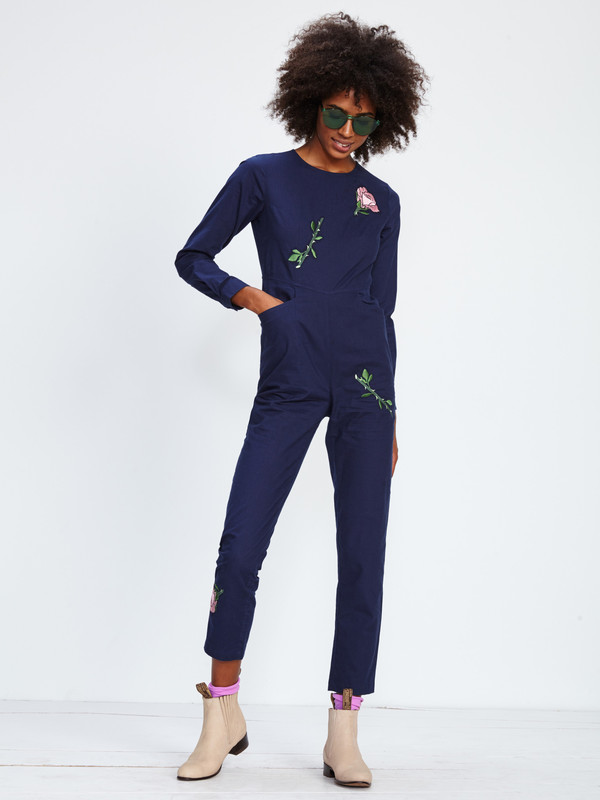 SAMANTHA PLEET SECRET GARDEN JUMPSUIT