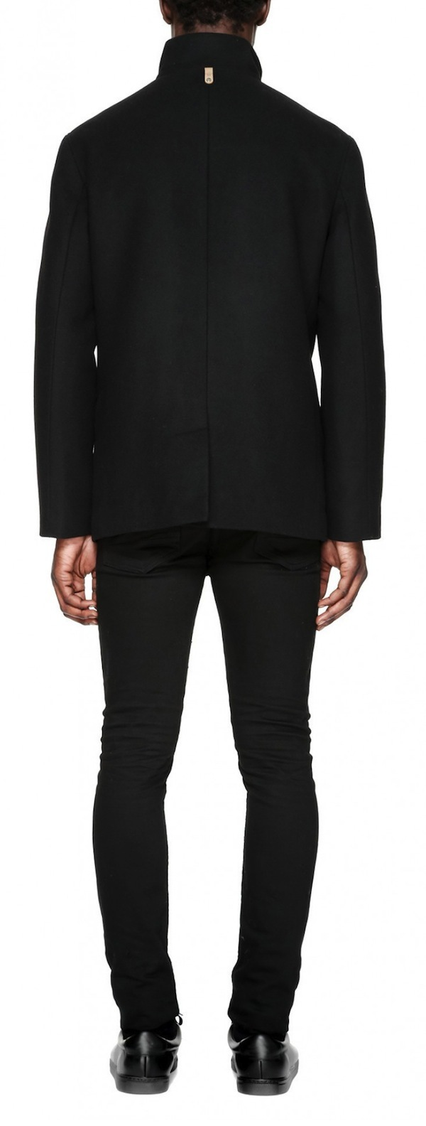 Men's Mackage Wilfred Flat Wool Coat