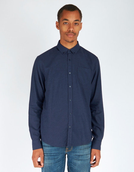 Men's Woolrich John Rich & Bros. Chamois Shirt Dark Navy