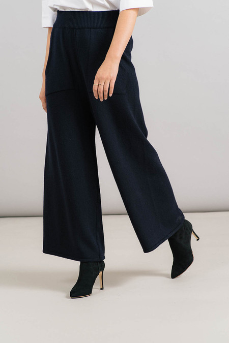 Achro Wide Leg Knit Pants