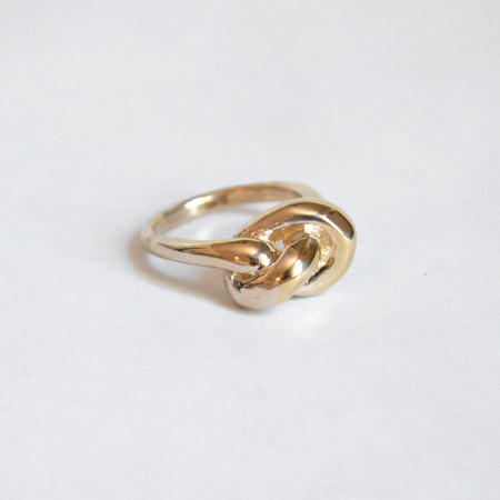 Drift/Riot Knot Ring - Brass