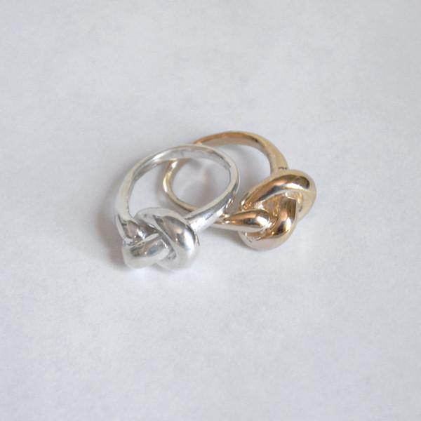 Drift/Riot Knot Ring - Brass