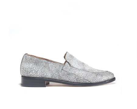 zou xou Loafer in Pearl Crackle