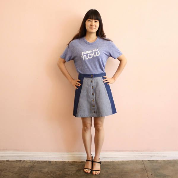 Rachel Antonoff Equal Pay Now Tee