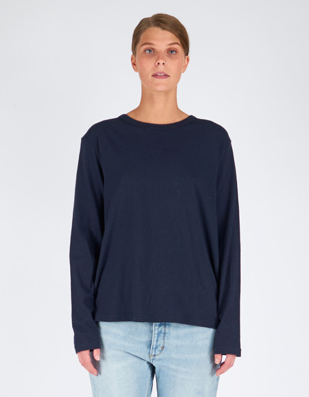 Assembly Label Bay L/S Tee Navy