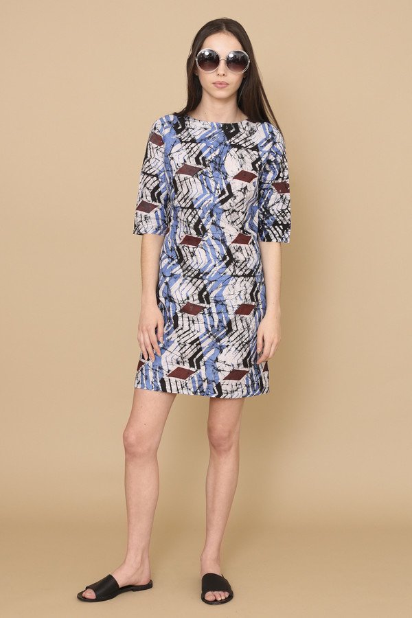Osei-Duro Muto Dress in Dulse
