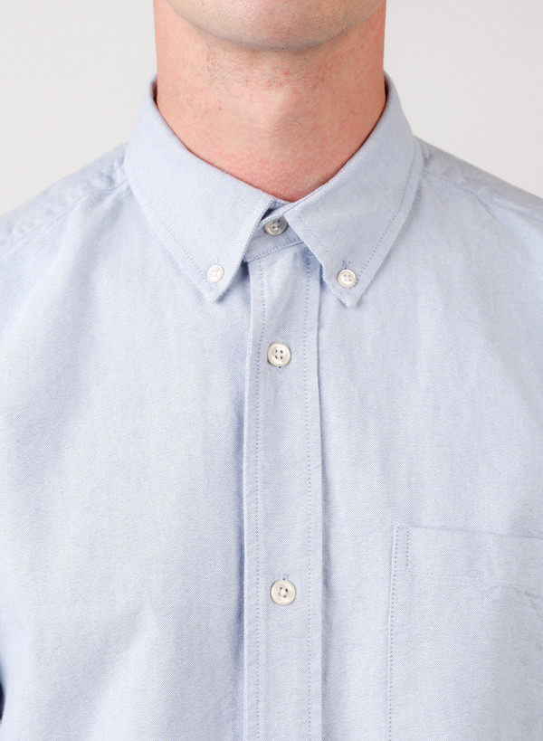 Men's Our Legacy 1940's Shirt Blue Oxford
