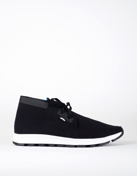 Men's Native Shoes Native AP Chukka Hydro Jiffy Black Shell White