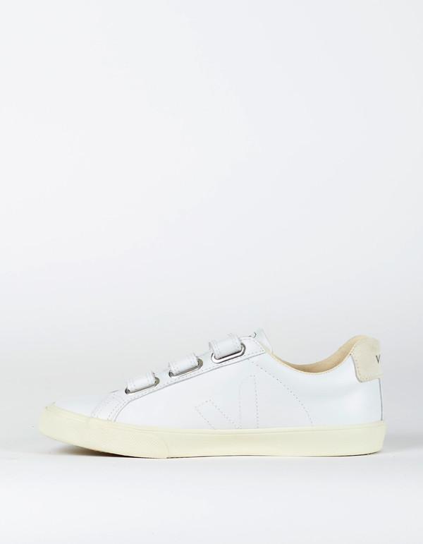 Veja Esplar 3 Locks Leather Sneaker Extra White