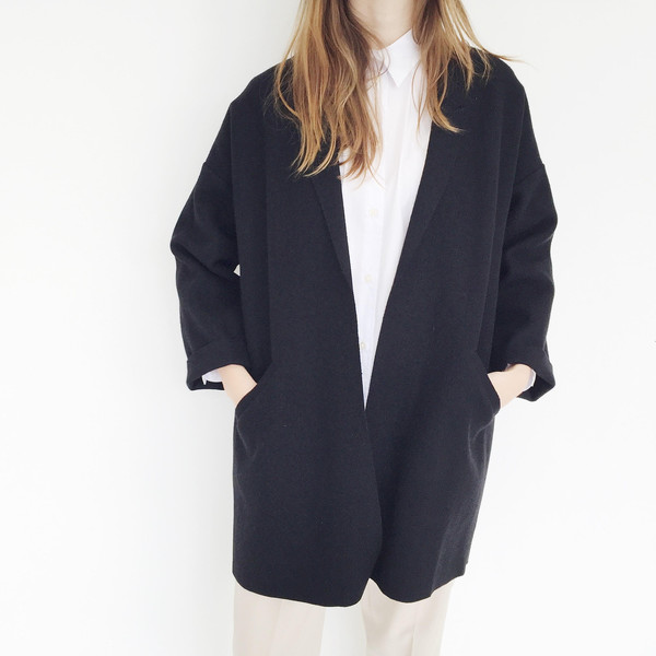 ARE Studio - Black Angle Coat
