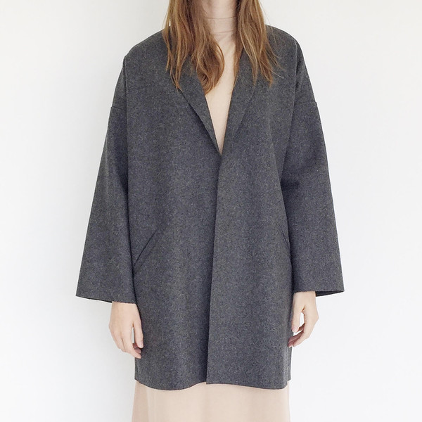 ARE Studio - Charcoal Angle Coat