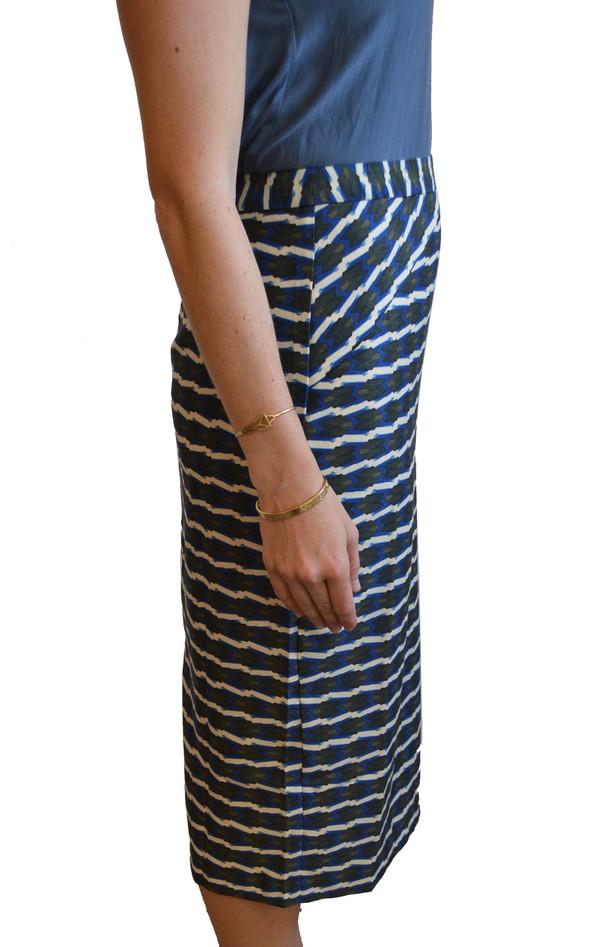 Lauren Moffatt - Blue Arrow Skirt