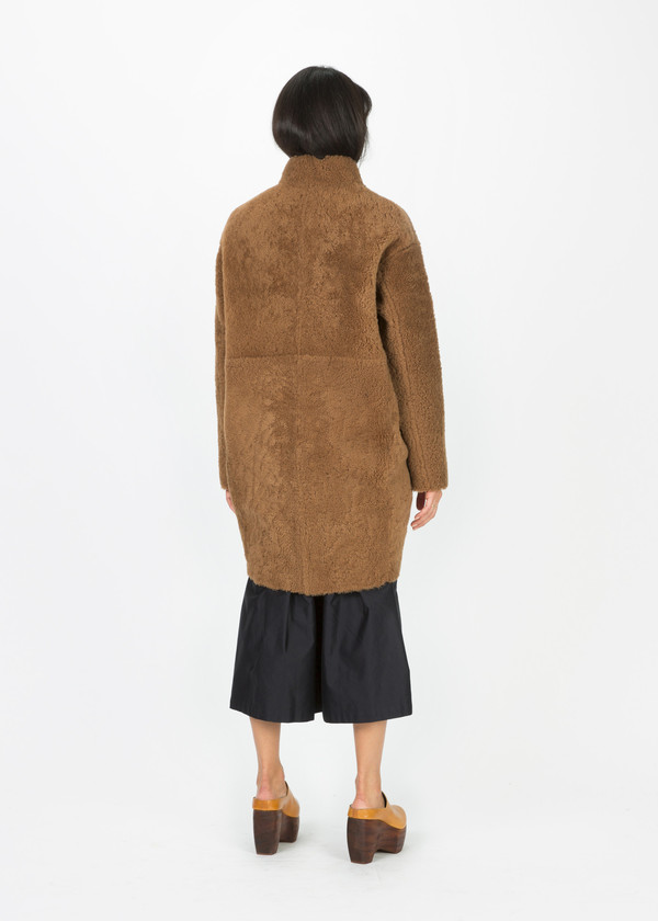 Anne Vest East Shearling Coat
