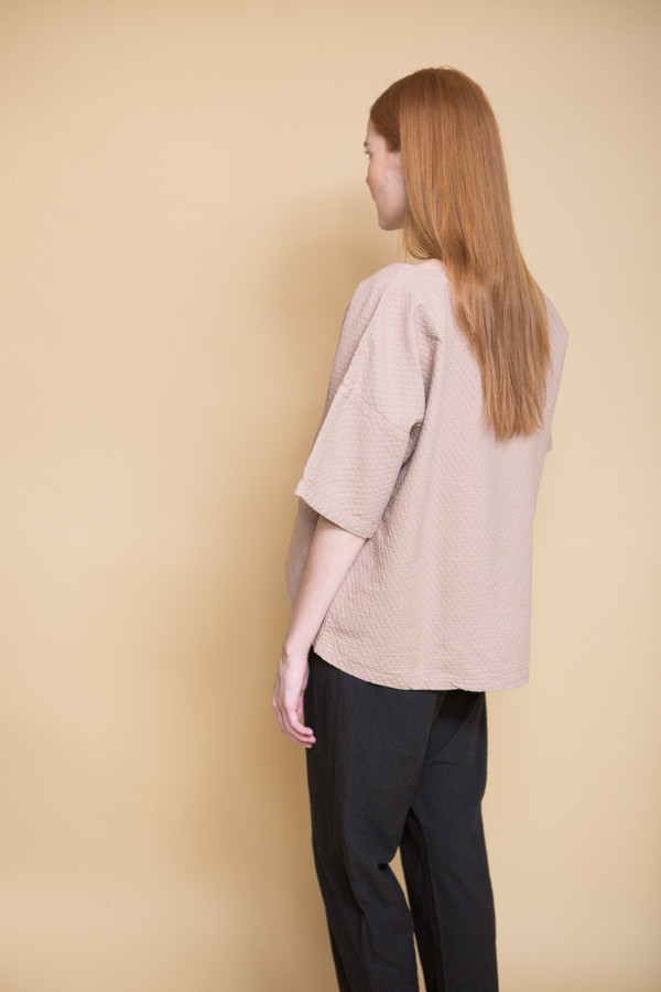 Atelier Delphine Free Top - Mauve Taupe