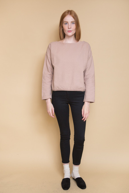 Atelier Delphine Sunday Pullover / Mauve Taupe