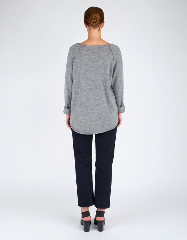 Assembly Label Atlantic Knit Pullover Grey