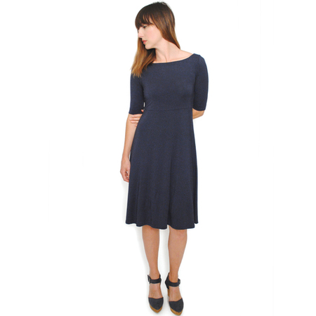 Curator Piper Dress - Navy