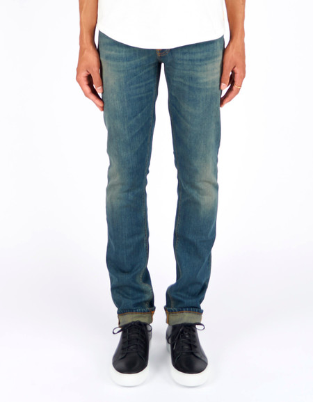 Men's Nudie Grim Tim Indigo Story