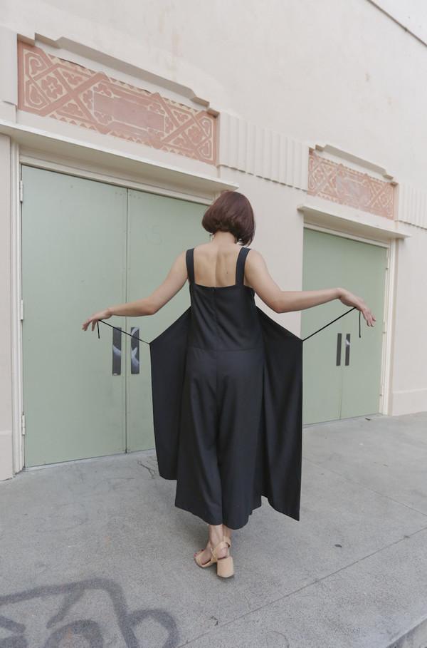 Wolcott : Takemoto Carol Jumpsuit in Black