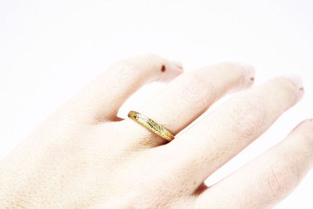 Stefanie Sheehan Single Palm Ring