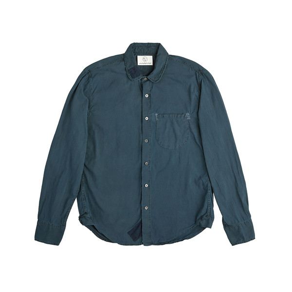 Olderbrother Hand Me Down - Classic Hemp Shirt - Indigo Plus