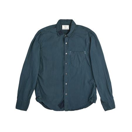 Olderbrother Hand Me Down - Classic Hemp Shirt - Indigo Plus