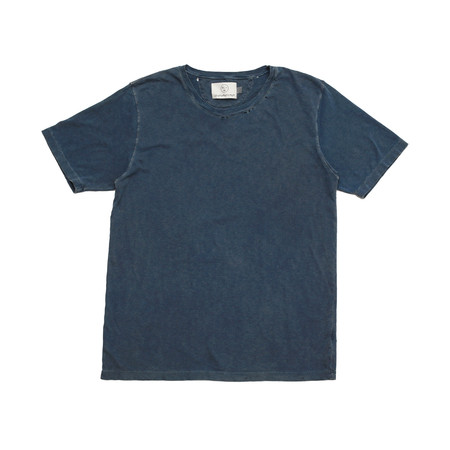 Olderbrother Hand Me Down - OB Tee - Indigo Plus