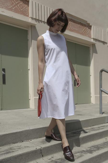 Toit Volant Mariko Dress in White
