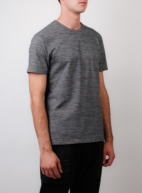 Reigning Champ Set-In Tee Tiger Jersey Black