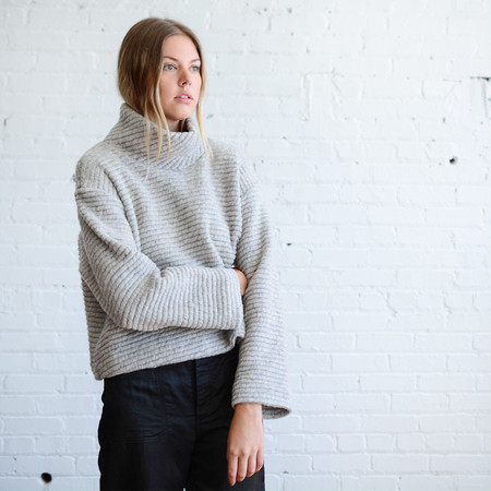 Horses Atelier Cropped Turtleneck