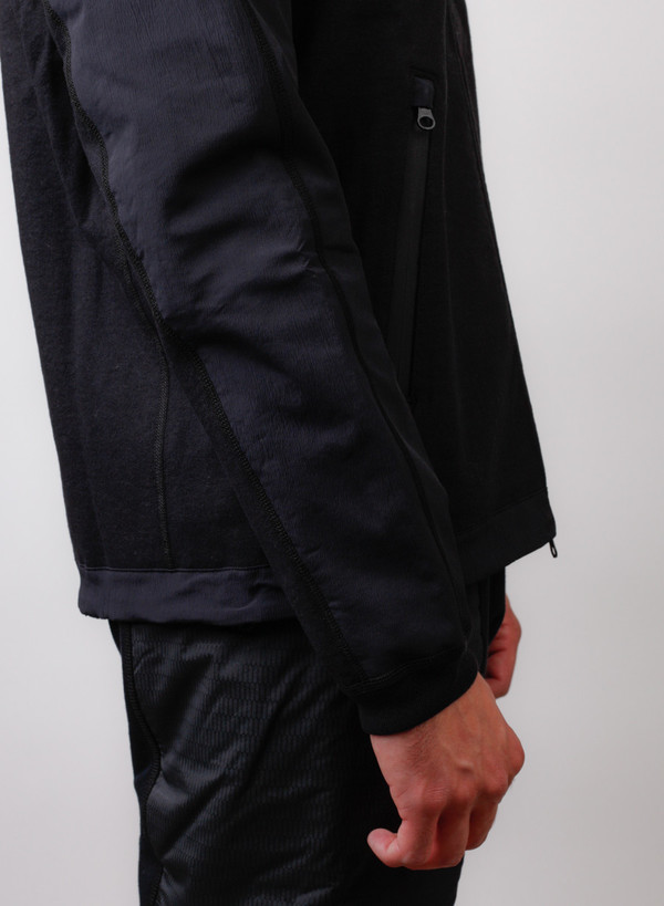Men's Reigning Champ Trail Jacket Hybrid Black